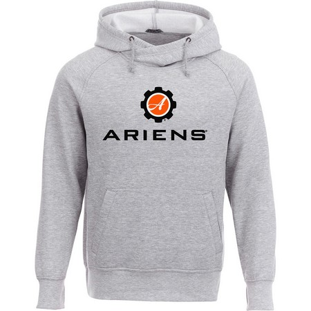 Ariens Fleece Hoodie - Heather Grey